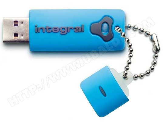 Cl USB INTEGRAL Splash 16 Go bleu