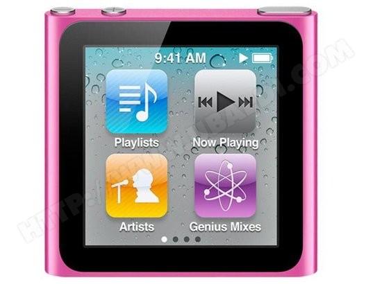 iPod Nano APPLE iPod Nano VI 16 Go Rose