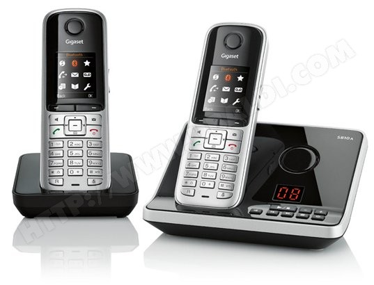 Tlphone sans fil SIEMENS GIGASET S810A Duo