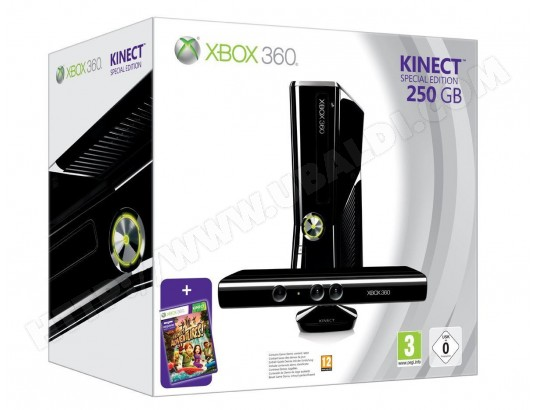Console Xbox 360 MICROSOFT 250 Go + Kinect Microsoft