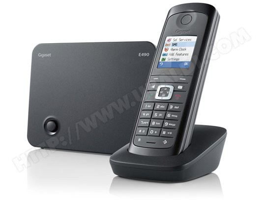 Tlphone sans fil SIEMENS GIGASET E490