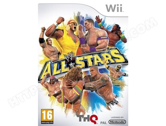 Jeu Wii THQ WWE All-Stars Wii