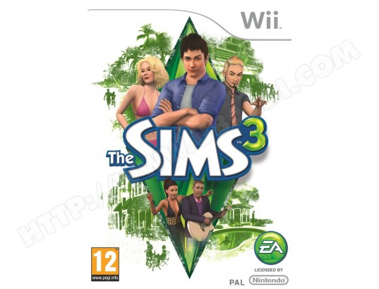 Jeu Wii ELECTRONIC ARTS Les Sims 3 Wii