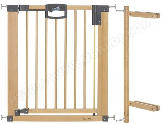 Barri�re s�curit� escalier GEUTHER Easylock Natur 2747+kit escalier
