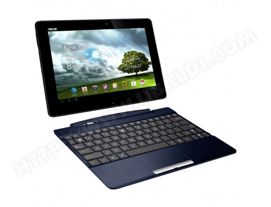 Tablette tactile ASUS Transformer TF300 32 Go bleu + dock
