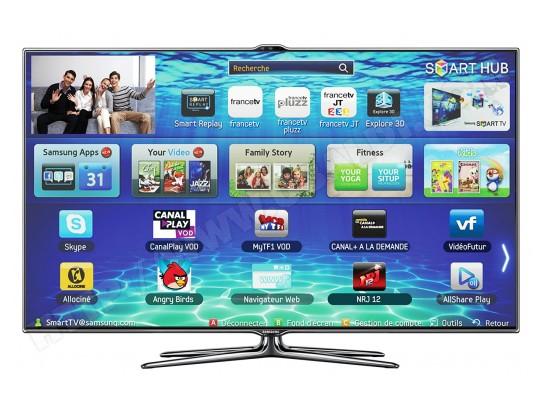 Téléviseur LED 102 cm Full HD 3D SAMSUNG UE40ES7000