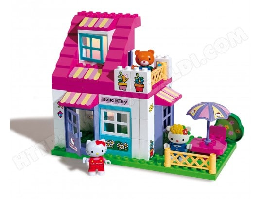 Jeu De Unico Plus La Maison De Hello Kitty With Jeu