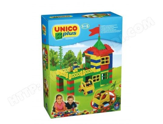 Jeu de construction UNICO PLUS Maison Avec Terrasse Pilotis