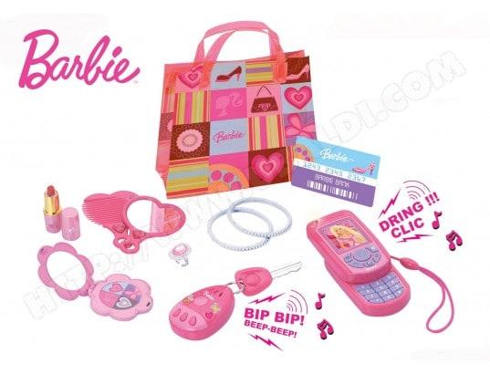 Coffret accessoires déguisement LEXIBOOK RPB011 Filles Branchees Barbie