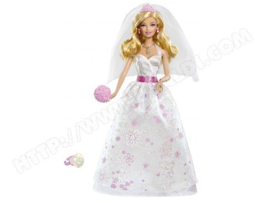 Poupée Barbie MATTEL Mariee