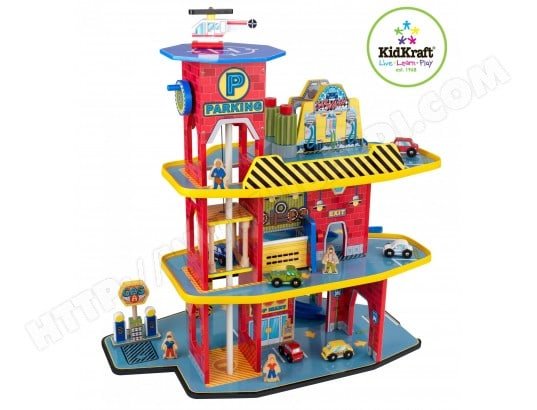 Garage miniature KIDKRAFT Garage De Luxe