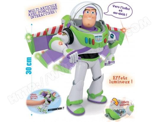 Figurine Toy Story GIOCHI PREZIOSI Buzz l Eclair multi-fonctions