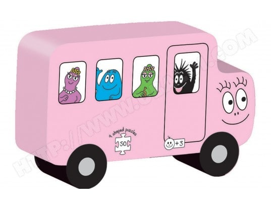 Puzzle DUJARDIN Transport Barbapapa 50 Pieces