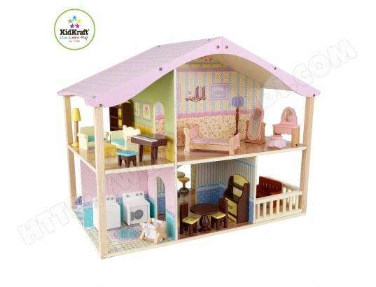 maison de poup e pas cher vente maisons poup es en ligne. Black Bedroom Furniture Sets. Home Design Ideas