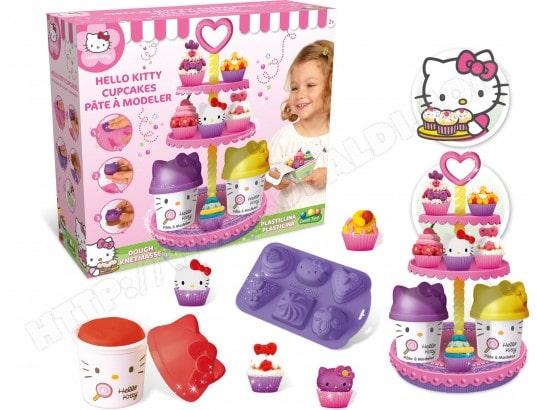Coffret pâte à modeler CANAL TOYS Cupcakes Hello Kitty