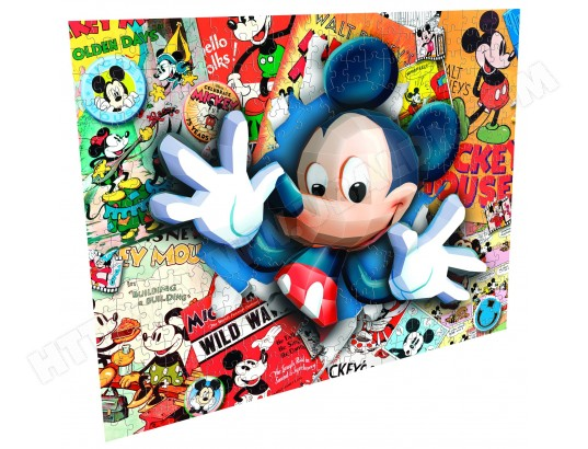Puzzle 3D MEGA BLOKS Mickey Niveau 2