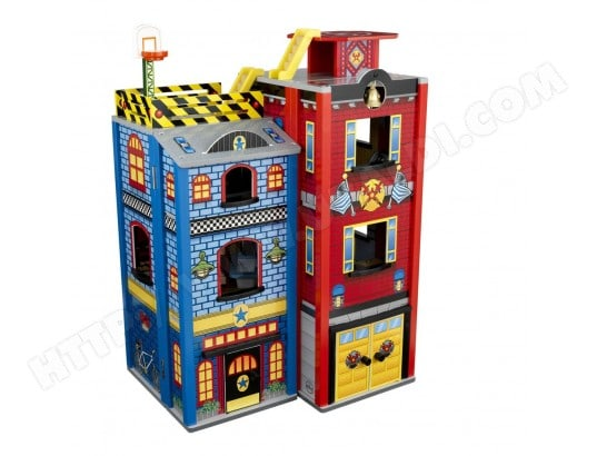 Garage miniature KIDKRAFT Heros Du Quotidien