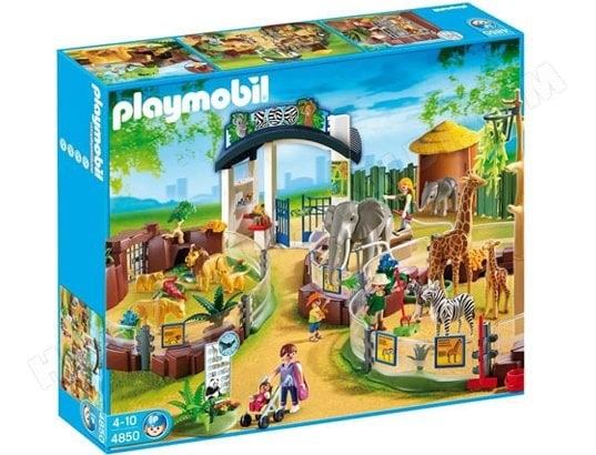 Jeu de construction PLAYMOBIL - Grand zoo