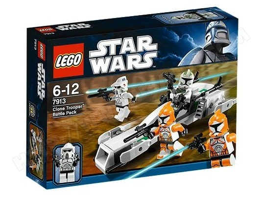 Jeu de construction LEGO Star Wars Clone Trooper Battle Pack