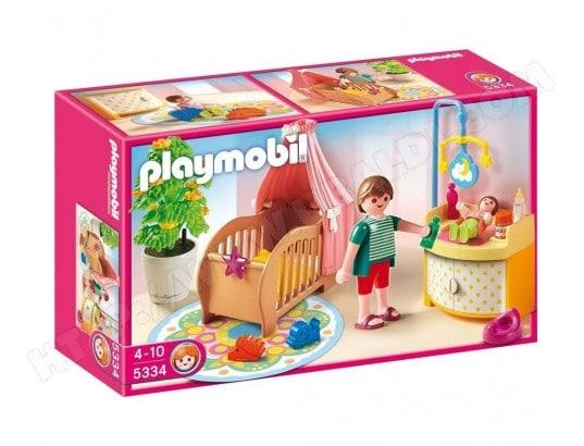 PLAYMOBIL - Chambre de bebe avec berceau