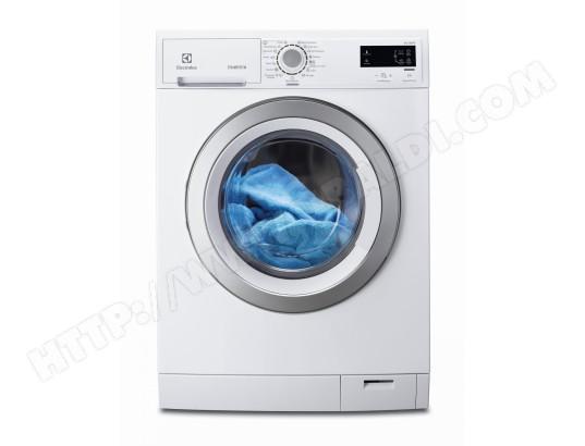 Un lave linge frontal blanc Electrolux