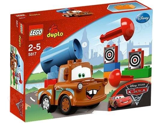 Jeu de construction LEGO Duplo Cars - Agent Martin
