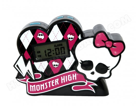 Radio r�veil enfant TECHTRAINING Monster High - 50148