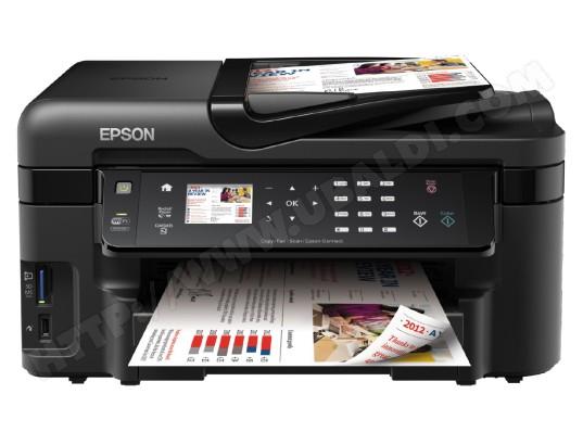 Imprimante multifonction jet d'encre EPSON WorkForce WF-3520DWF