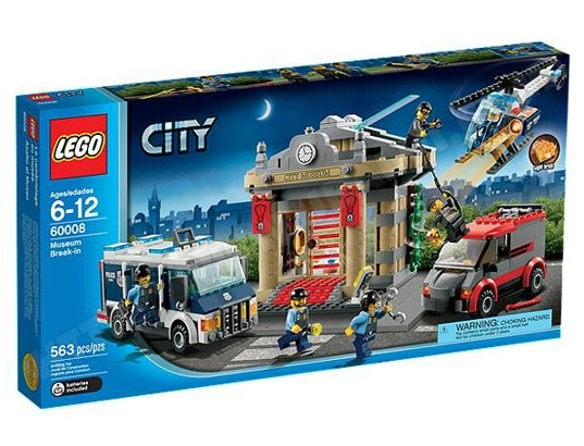 cambriolage du musée LEGO City