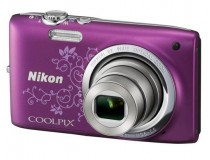 Appareil photo num�rique compact NIKON CoolPix S2700 violet arabesque