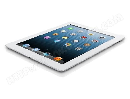 iPad  blanc