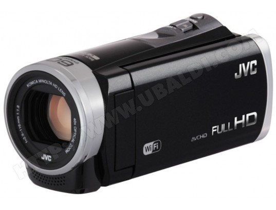 Camscope avec mmoire flash JVCGZEX315BENOIR2.5MPIXELS