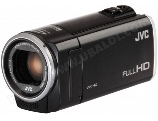 Camscope avec mmoire flash JVCGZE105BENOIR2MPIXELS