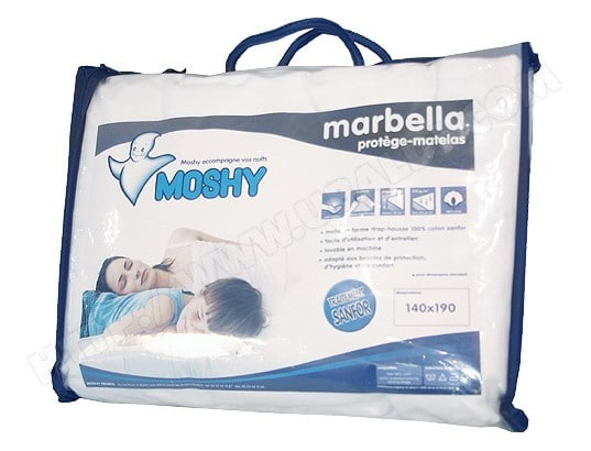 Protge matelas MOSHY MARBELLA 140 X 190