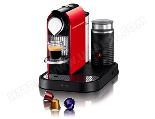 Nespresso KRUPS YY1460FD Citiz and Milk rouge